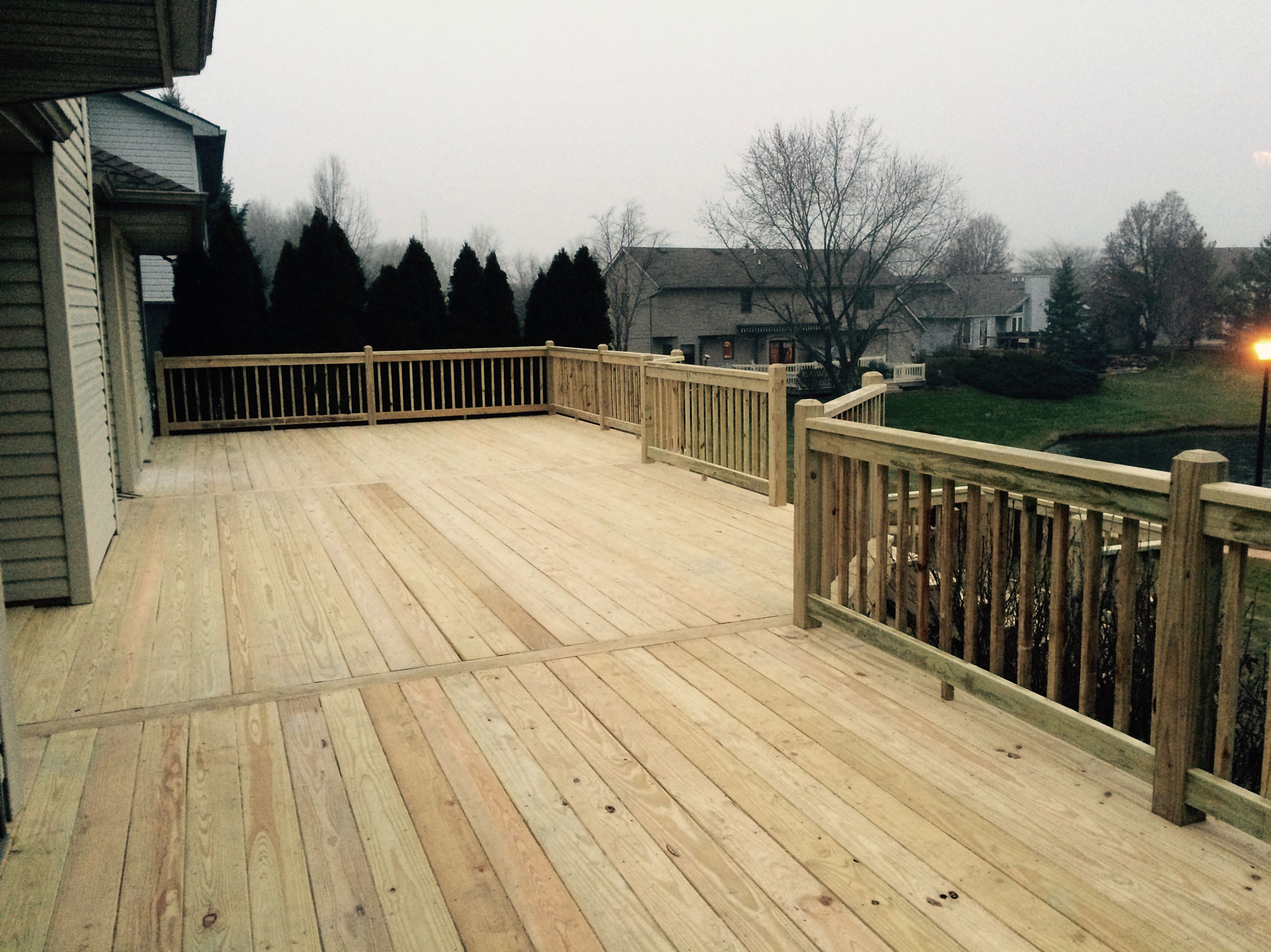 Decks and Stamped Concrete - Amish Contractor