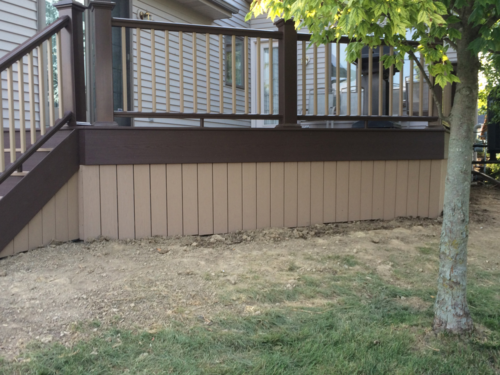 Decks And Stamped Concrete Amish Contractor