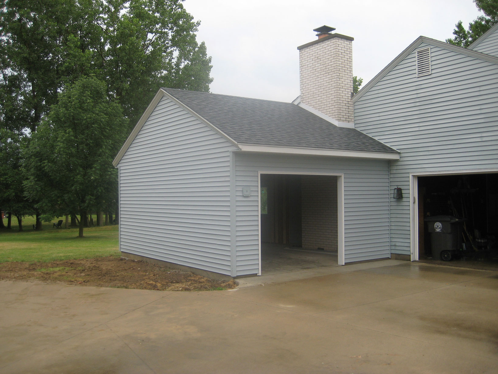 Amish Sheds And Garages : Garages and pole barns amish contractor