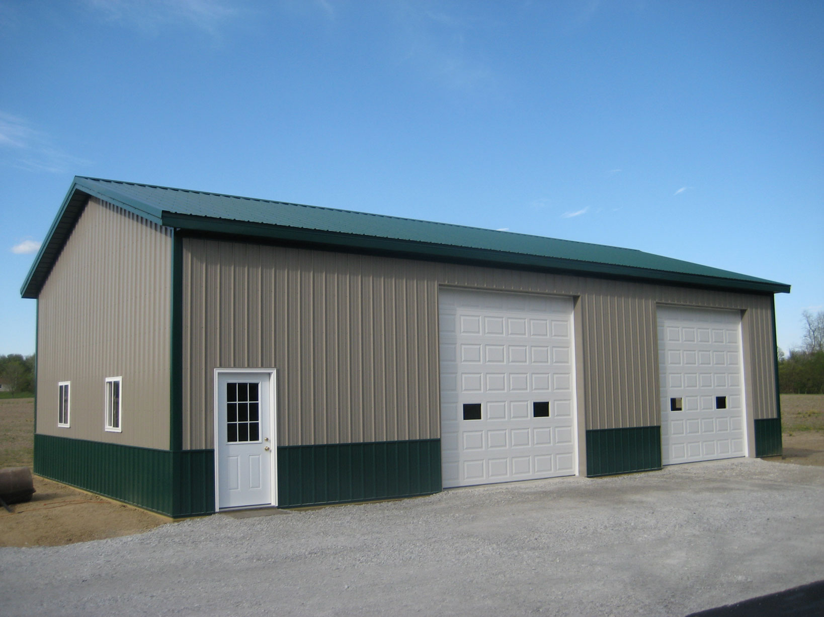 Amish Pole Buildings : Garages and pole barns amish contractor