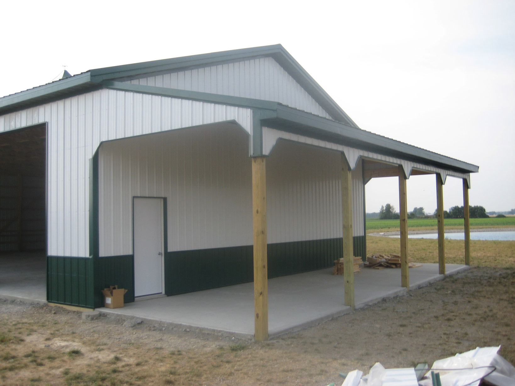 Amish Pole Garages : Garages and pole barns amish contractor