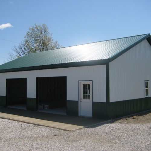 Garages And Pole Barns Amish Contractor